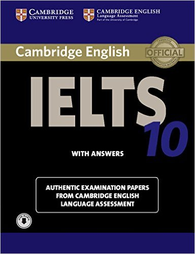 Cambridge IELTS 10 cover